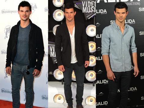 El estilismo de Taylor Lautner el chico elegante