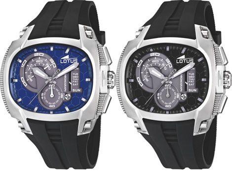 Tornado y Doom las dos colecciones de relojes Lotus para hombre de este otoño 2011