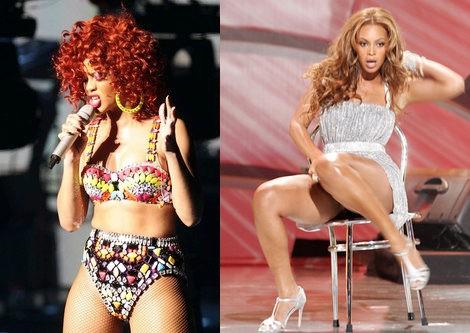 Rihanna o Beyoncé utilizan faja para bailar cómodas