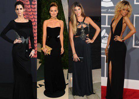 Vestidos largos y elegantes negros