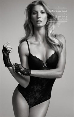 Gisele Bündchen presenta los nuevos modelos de su firma de lencería Hope
