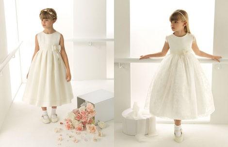 Vestidos de arras de la colección 'Rosa Clará First'