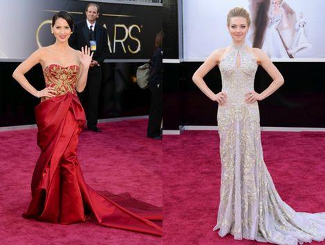 Amanda Seyfried y Olivia Munn lucieron espectaculares vestidos