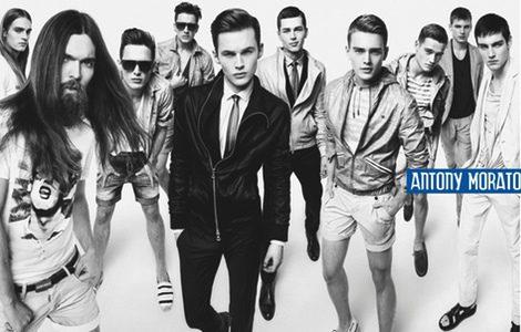 Trajes, camisetas y pantalones de Antony Morato para primavera/verano 2013
