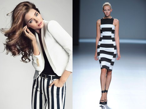 Look rayas black&white
