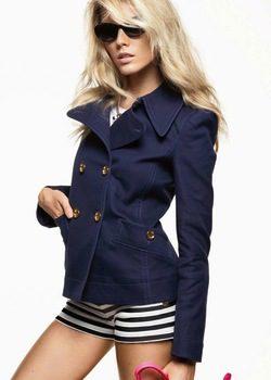 Maryna Linchuck, protagonista de la nueva campaña primavera/verano 2012 de Juicy Couture