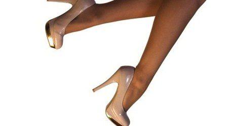 Los zapatos de color nude alargan la silueta
