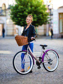 Disfrutar la ciudad en bicicleta