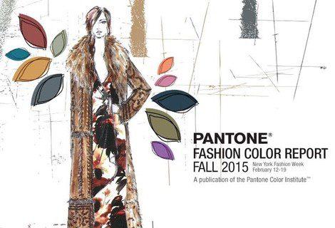 Pantone ha desvelado el Informe de Color para la moda de otoño 2015 en el que nos develada las tendencias para la próxima temporada