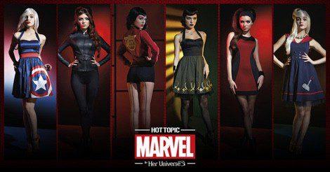 Línea de ropa de 'Los Vengadores'
