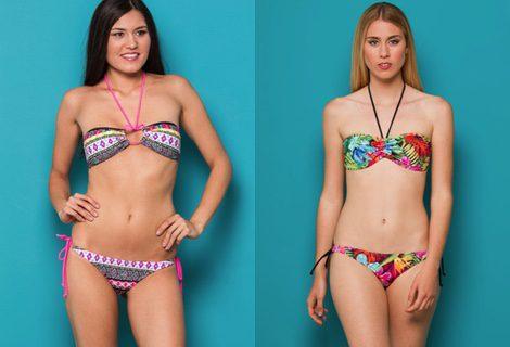 Bikinis con estampados tribales y tropicales de la colección 2015 de Inside