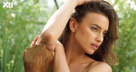 Una sexy Irina Shyak en la campaña primavera/verano 2015 de Xti