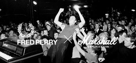 Fred Perry y Marshall Amplification crean una colección cápsula