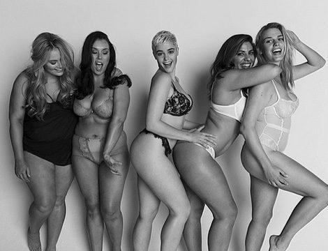 Las modelos curvy que protagonizan el Proyect Woman Kind