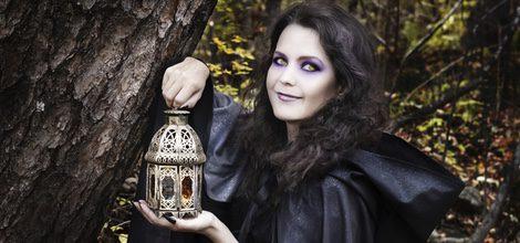 Disfruta de la noche de Halloween vestida de vampiresa