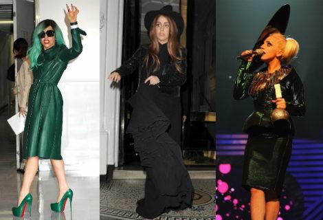 Lady Gaga vestida como toda una bruja de cuento
