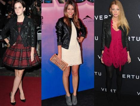 Tendencia Alert: chaqueta perfecto y vestido, la última moda entre las celebrities