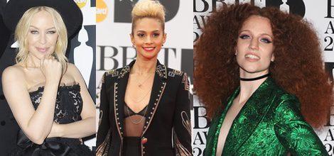 Kylie Minogue, Alesha Dixon y Jess Glynne