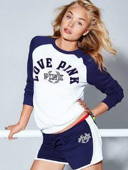 Conjunto de la nueva línea deportiva de Victoria's Secret