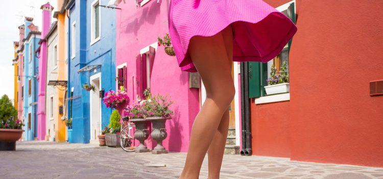 Escoge faldas frescas