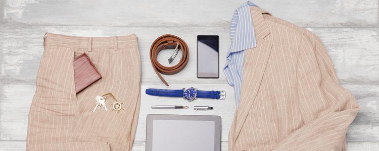 Cuando un hombre utiliza prendas de lino le da un toque elegante a su look