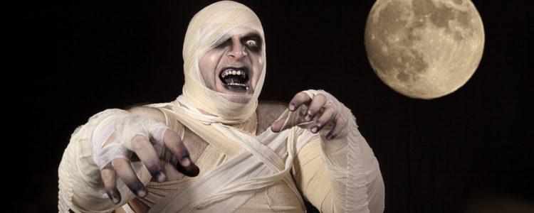 El disfraz de momia es uno de los más fáciles de hacer
