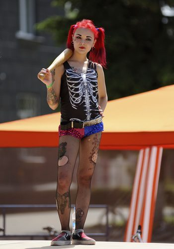 El disfraz de la villana Harley Quinn está de actualidad
