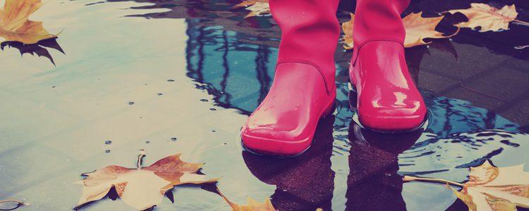 Las botas de agua son cómodas y útiles
