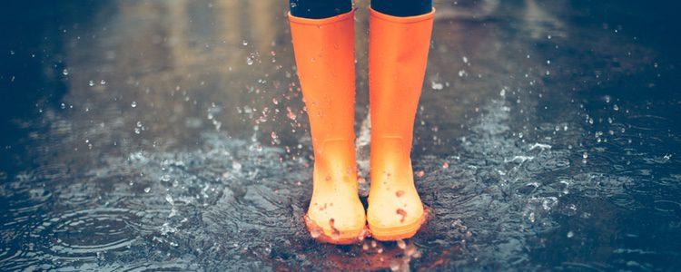 Las botas de agua, el mejor calzado para la lluvia