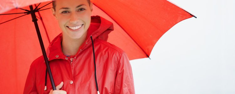 El chubasquero es un gran aliado para los looks de lluvia