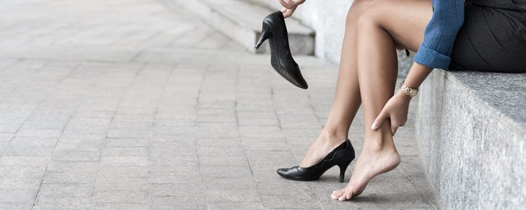 Se puede producir inflamación en el tendón de Aquiles