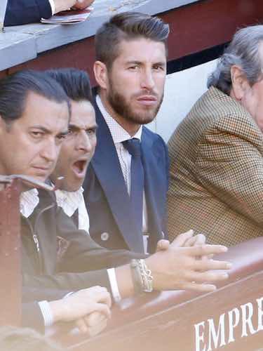 Sergio Ramos en los toros