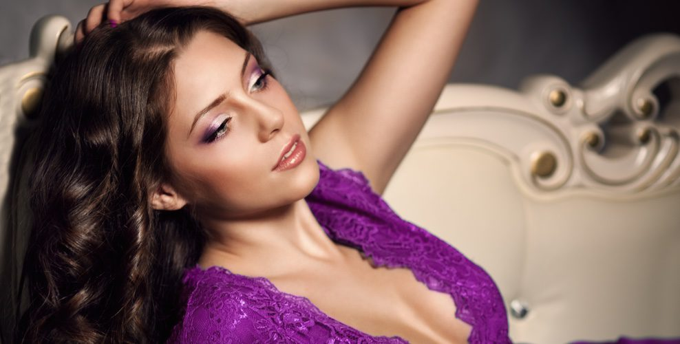 El violeta se puede adaptar perfectamente a cualquier ámbito estético