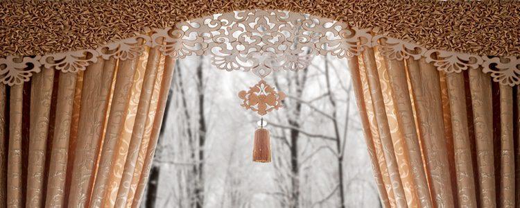 La seda también se utiliza para la decoración del hogar