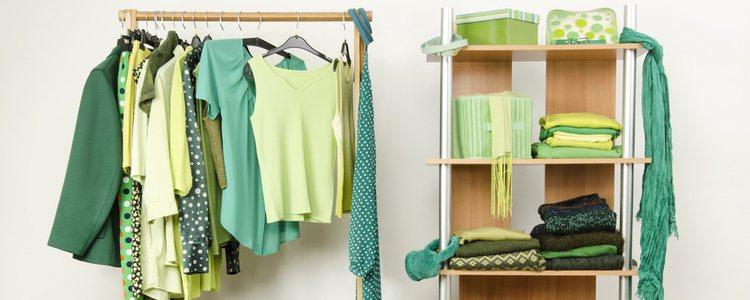 Combina los diferentes tonos de verde