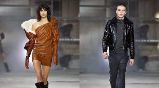 Saint Laurent abre la París Fashion Week con mucho cuero en su otoño/invierno 2017/2018