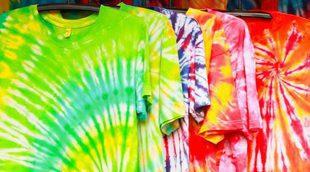 Tie dye, el estampado más colorido
