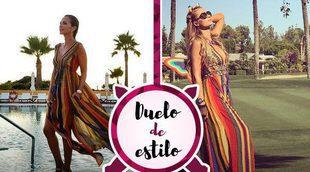 Paula Echevarría y Paris Hilton se decantan por el mismo look étnico. ¿A quién le sienta mejor?