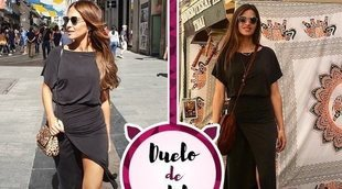 Paula Echevarría y Sara Carbonero apuestan por el mismo vestido de Slow Love. ¿A quién le sienta mejor?