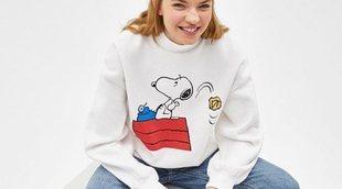 Bershka retrocede en el tiempo y crea una colección muy especial de Snoopy y Arale