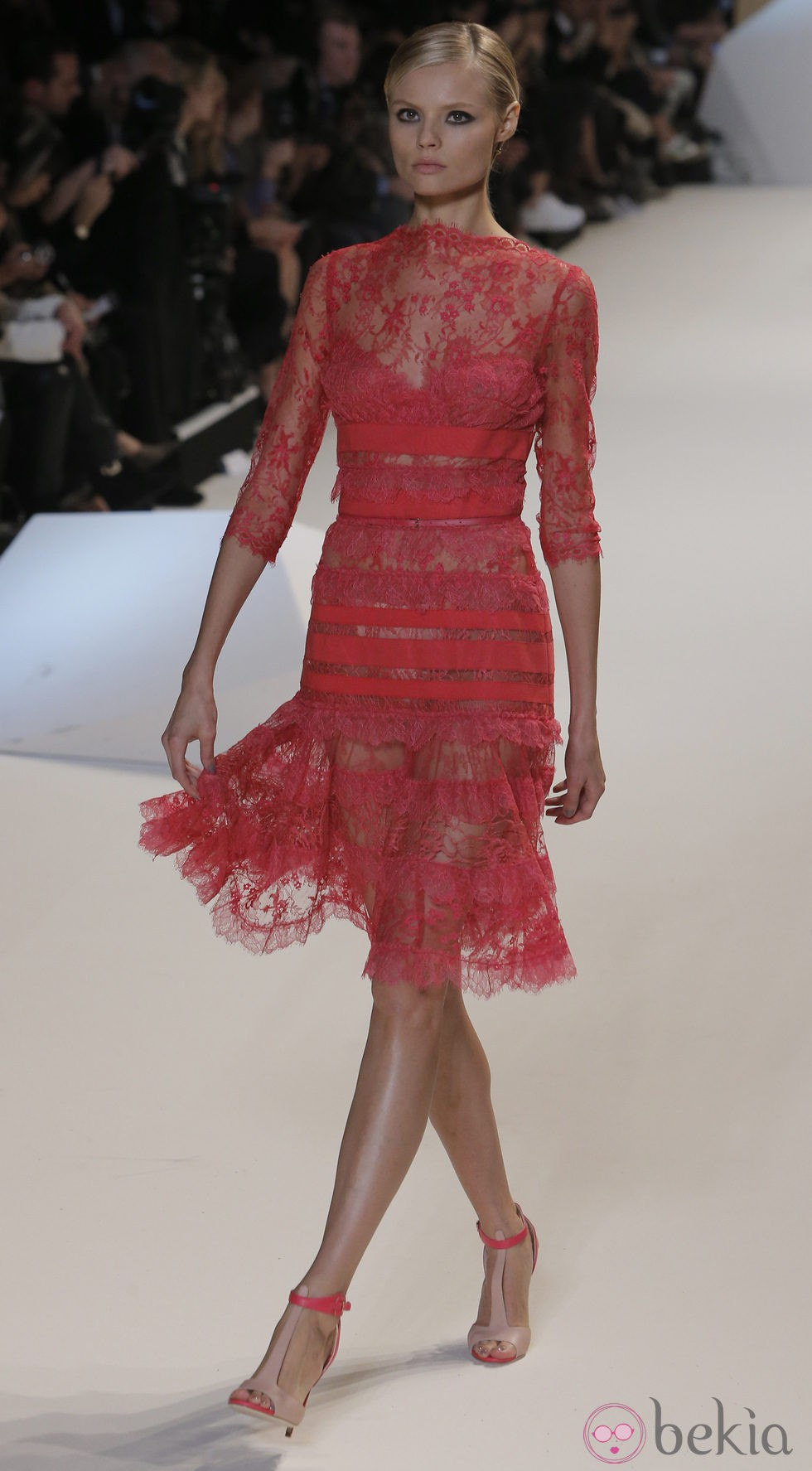 De Elie Saab En La Semana De La Moda De Par S Primavera Verano 2013