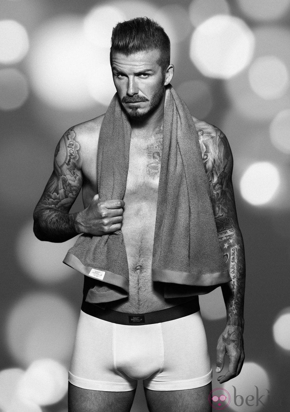 david beckham en ropa interior para h m navidad 2012