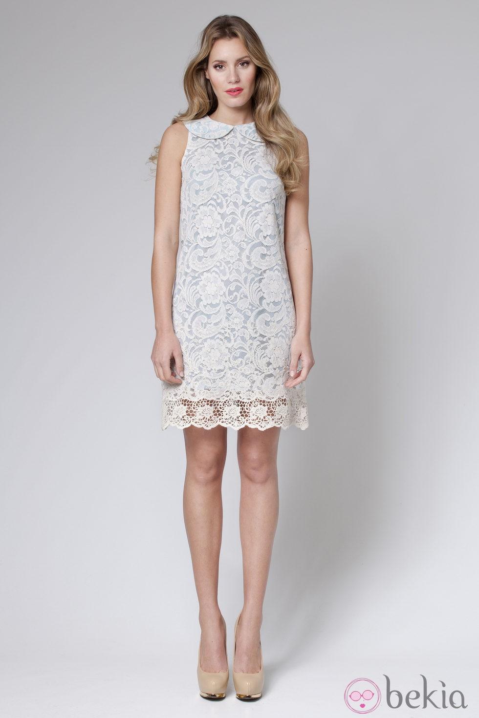 Vestido crochet de la colección primavera/verano 2013 de Poète