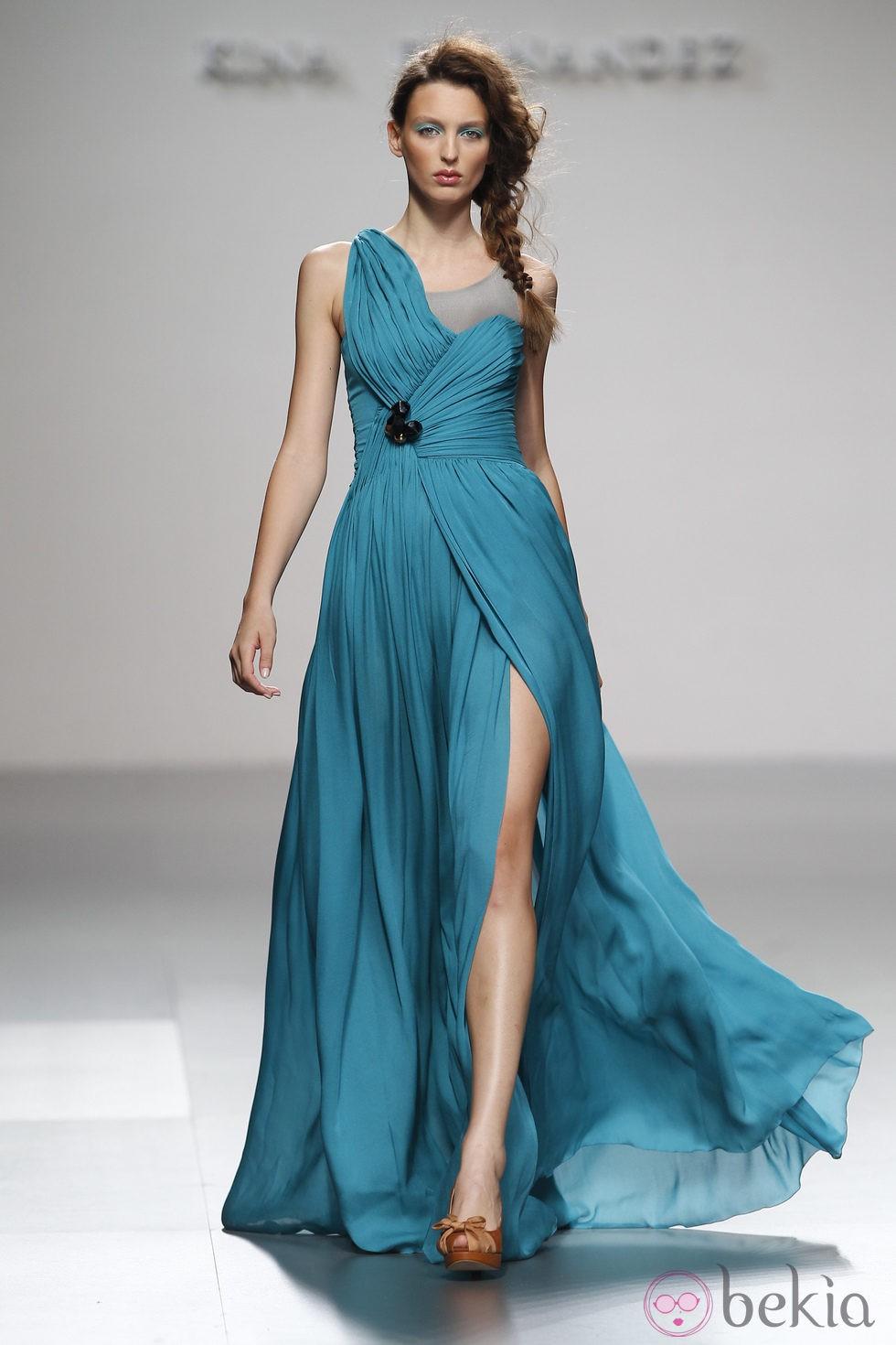 Vestido de xv aos azul turquesa con ramo y car interior for Color azul turquesa